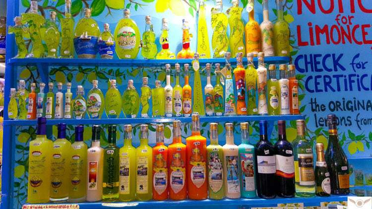 Naples Italy local food guide eat find Limoncello