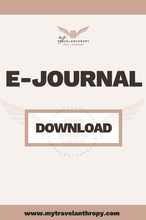 E-journal - Mytravelanthropy