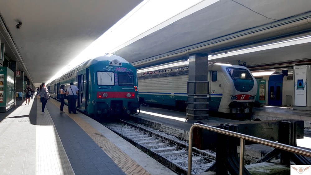 Naples Italy Solo Travel Guide train station
