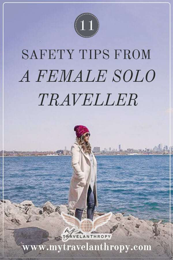 safety tips female solo traveller