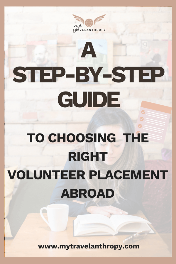 e choosing right volunteer placement abroad