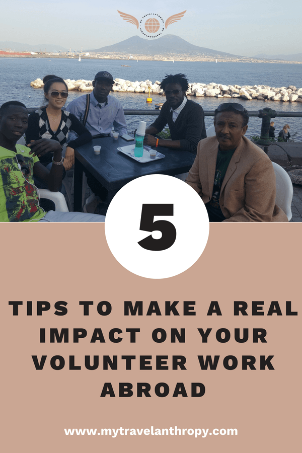 tips make impact volunteer work abroad