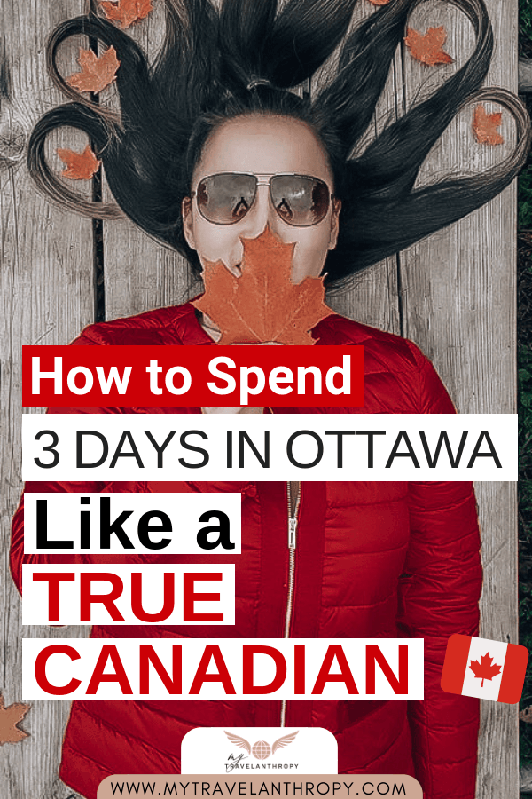 3 days ottawa canadian tour