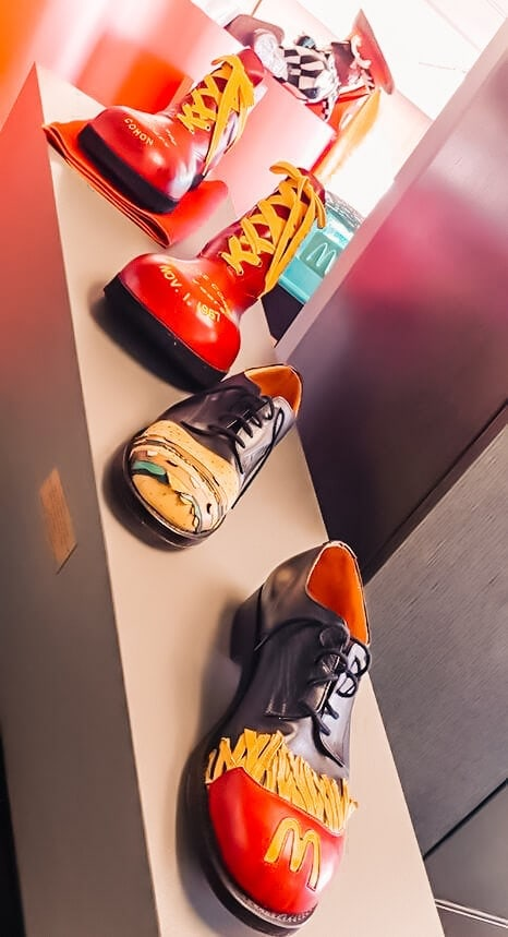 Mcdonalds canada memorabilia shoes