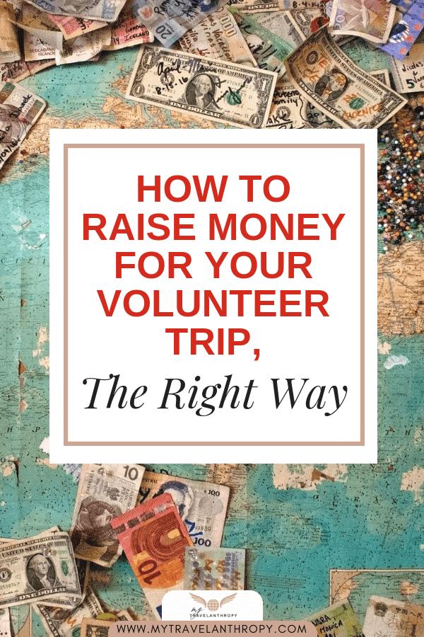 raise money fundraising volunteer trip abroad
