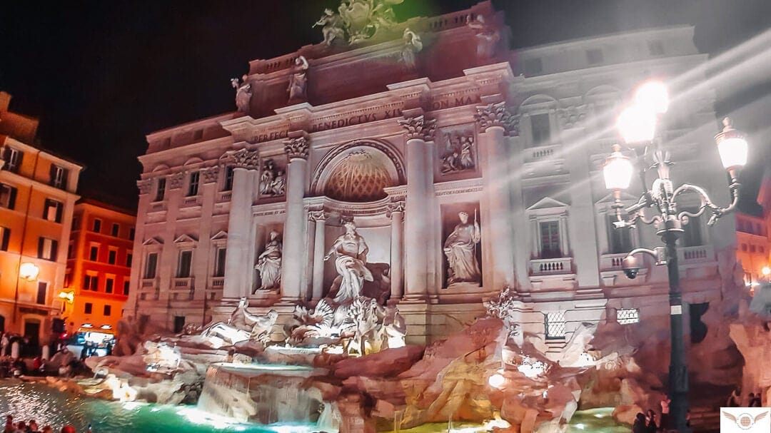 solo travels trevi fountain rome