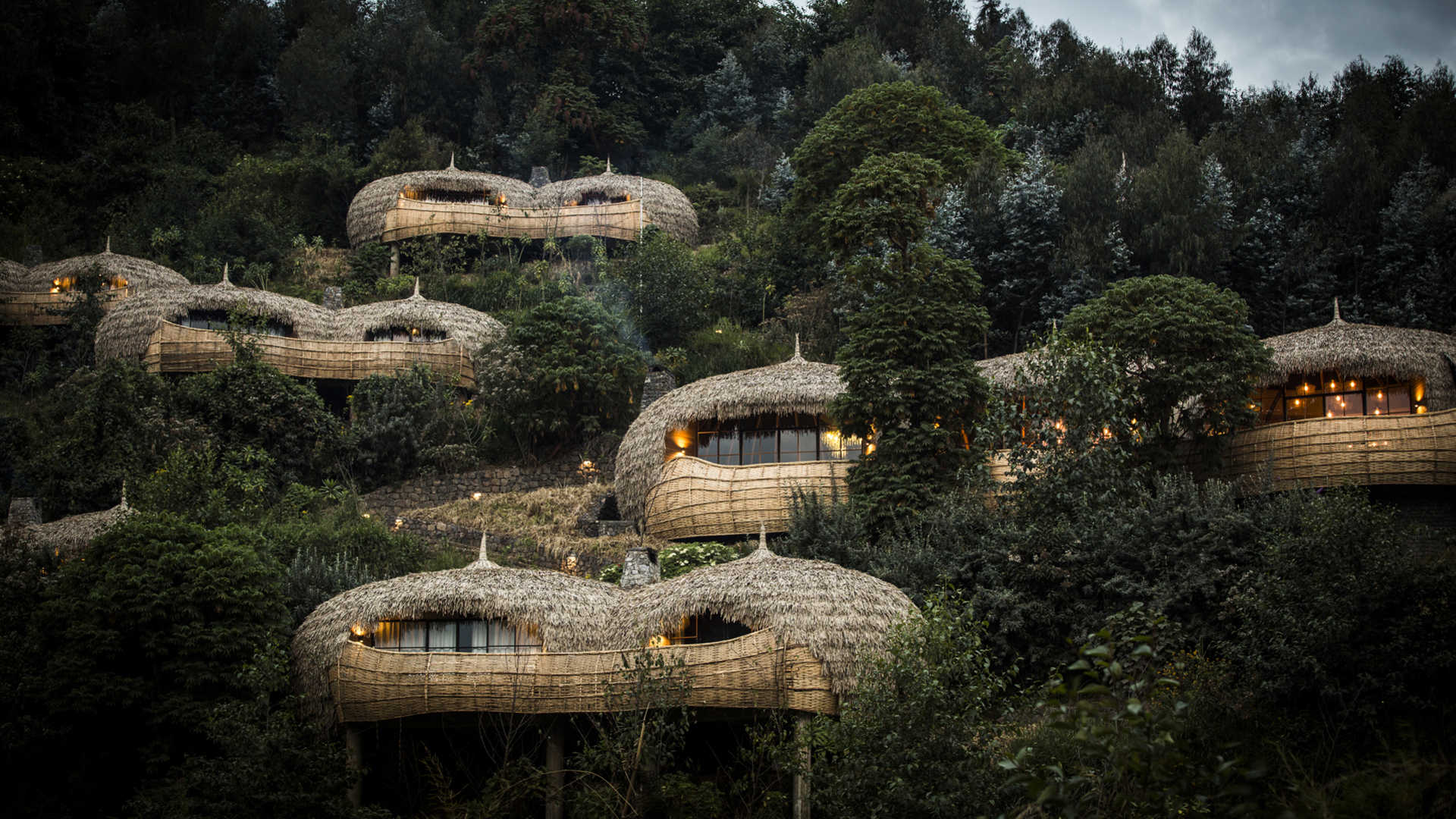 rwanda bisate lodge resort wilderness safaris accomodation