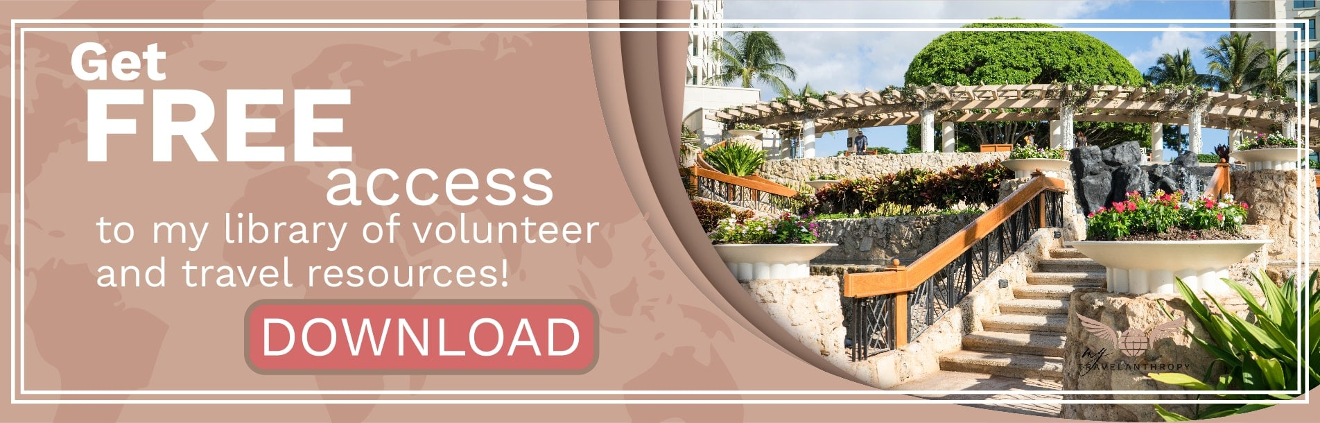 volunteer abroad travel solo free library resources